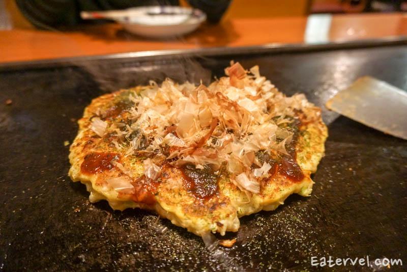 Fugetsu Tanukikoji Halal Okonomiyakii in Sapporo
