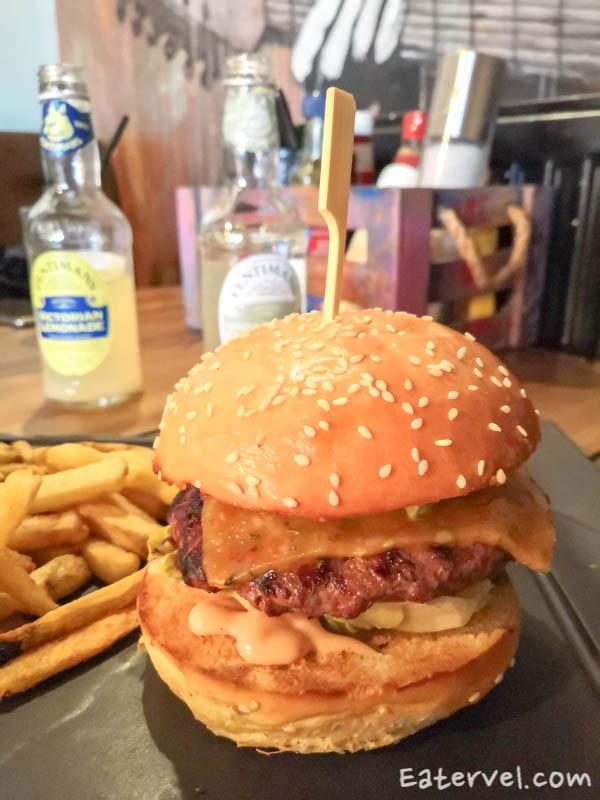 band of burgers brick lane halal - Burger Angus