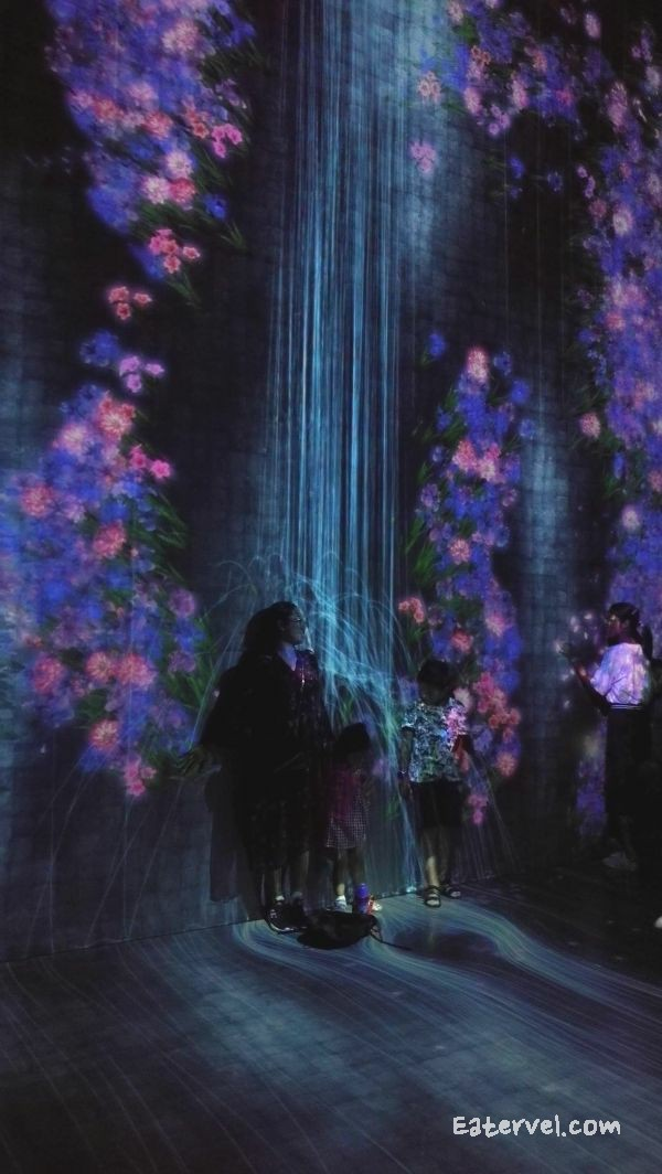 FUTURE WORLD: WHERE ART MEETS SCIENCE Universe of particle Teamlab in singapore