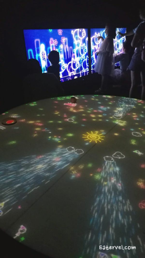 A Table Where Little People Live FUTURE WORLD: WHERE ART MEETS SCIENCE Teamlab in singapore