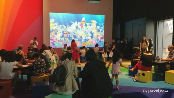 Sketch Aquarium FUTURE WORLD: WHERE ART MEETS SCIENCE Teamlab in singapore