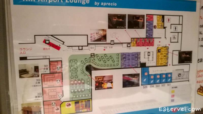 map KIX-Airport-Lounge-Lounge-Osaka-สนามบิน-KIX