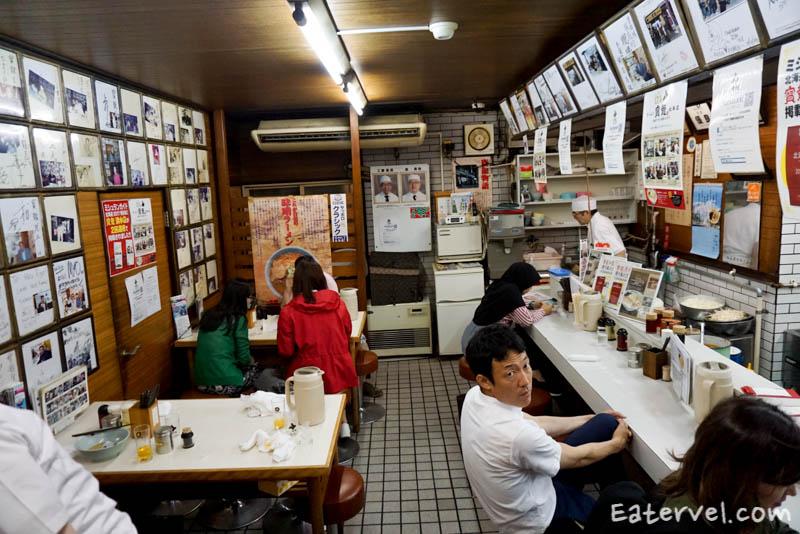 บรรยากาศภายในร้าน Ramen Horyu Flaghip Shop Halal Ramen in Sapporo